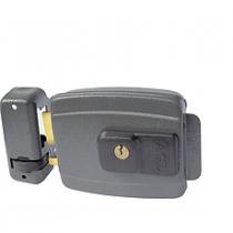 Fechadura Elétrica 65mm Cinza Ajustável - AGL