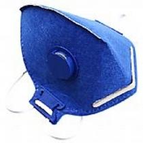 Máscara Respiratória PFF-2 Descartável com Válvula - PROSAFETY