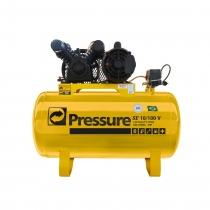 Compressor de Ar SE10/ 100V  10 Pés 100 Litros 110/220V Monofásico - PRESSURE