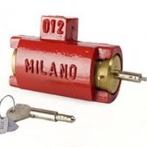 Cadeado de Porta de Aço Tetra ART 012/T Milano - POLYFORTE