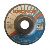 Disco de Desbaste KRA 22 4.1/2 x 1/4 x 7/8 - KRONOS