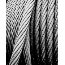 Cabo de Aço Galvanizado 6,4mm 1/4