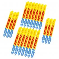 Lâmina de Serra Tico-Tico com 20 Peças Bi-Metal Unique com Encaixe Unificado para Metal STARRETT-BU224-20