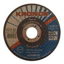 Disco de Corte 2 Tela DCA 22  4 1/2 x 1/8 x 7/8 - KRONOS