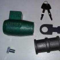 Cadeado de Porta de Aço Tetra F201Automatico - BRASILIA