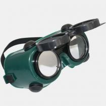 Óculos com Visor Articulado Redondo CG 250 - CARBOGRAFITE