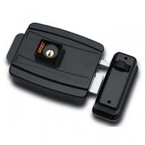 Fechadura Elétrica Cil 40mm (Abre P/ Dentro) Grafite - STAM